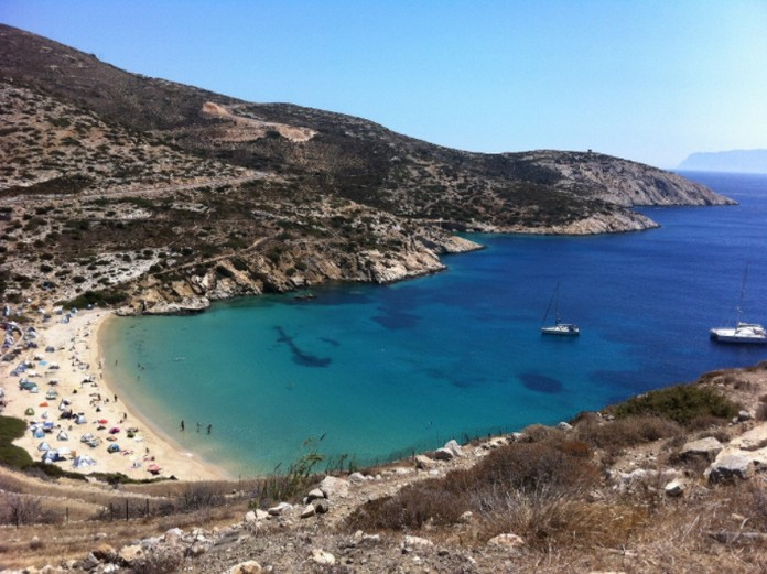 Northernmost Of The Greek Cyclades Islands