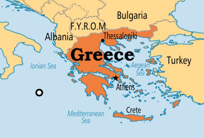 Map of Greece with Best Places Greek Islands Best Of Greece